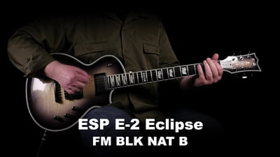 ESP E-II Eclipse FM BLK NAT B