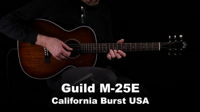 Guild M-25E California Burst USA