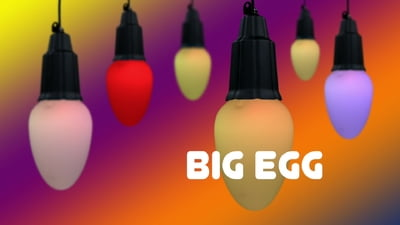 Fun Generation Big Egg LED RGB WW IR