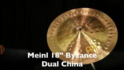 Meinl 18 Byzance Dual China
