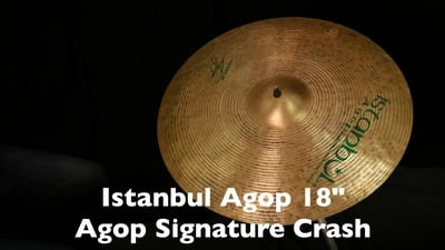 Istanbul Agop 18 Agop Signature Crash