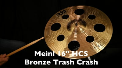 Meinl 16 HCS Bronze Trash Crash