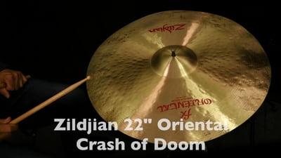 Zildjian Oriental Serie 22 Crash of Doom