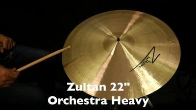 Zultan 22 Orchesterbecken