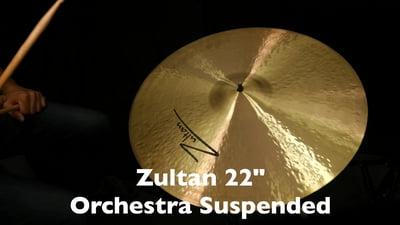 Zultan 22 Orchester Wirbelbecken