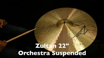 Zultan 20 Orchester Wirbelbecken