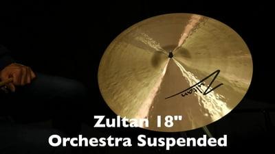 Zultan 18 Orchester Wirbelbecken