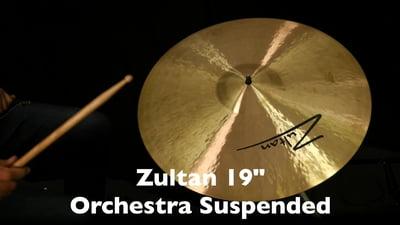 Zultan 19 Orchester Wirbelbecken