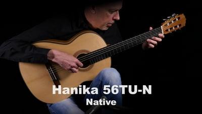 Hanika 56TU-N Native Konzert Gitarre