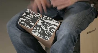 Schlagwerk Wooden Bongos WBS200