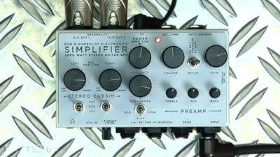 DSM & Humboldt Simplifier Amp/Cab Simulator