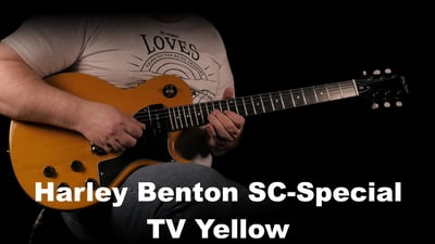 Harley Benton SC-Special TV Yellow