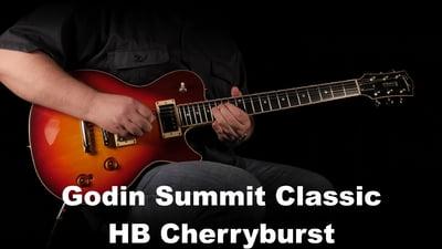 Godin Summit Classic HB Cherryburst HG MN