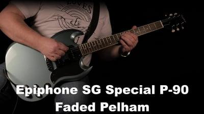 Epiphone SG Special P-90 Faded Pelham Blue