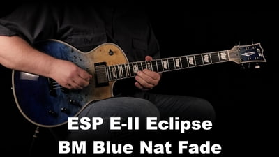 ESP E-II Eclipse BM Blue Nat Fade