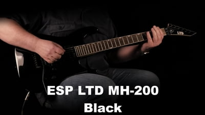 ESP LTD MH-200 Black