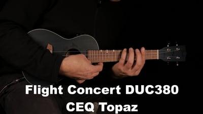 Flight Concert DUC380 CEQ Topaz