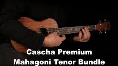 Cascha Premium Mahagoni Tenor Bundle