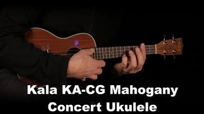 Kala KA-CG - Gloss Mahogany Concert Ukulele