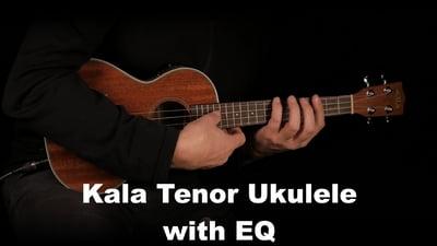 Kala Tenor Ukulele with EQ and Gigbag