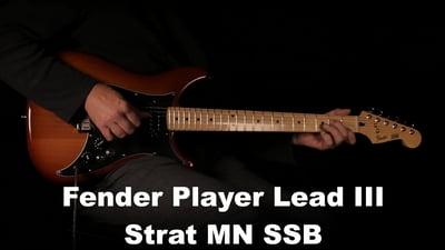 Fender Player Lead III Strat MN SSB