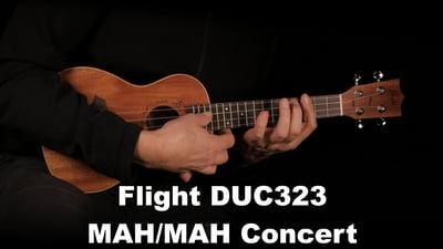 Flight DUC323 MAH/MAH