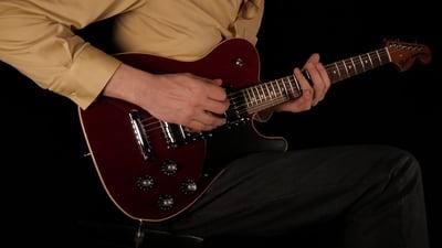 Fender LTD Troublemaker Tele Crimson Red