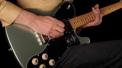 Fender AM Pro II Tele DLX MN MYST SFG