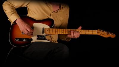 Fender American Ultra Tele MN Ultraburst