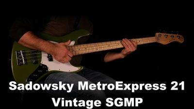 Sadowsky MetroExpress 21-Fret Vintage J/J Bass