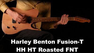 Harley Benton Fusion-T HH HT Roasted Flame Natural