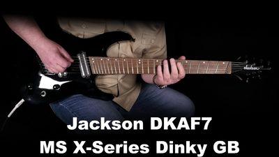 Jackson DKAF7 MS X-Serie Dinky Gloss Black