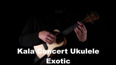 Kala Concert Ukulele Exotic Mahagoni