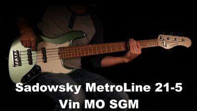 Sadowsky MetroLine 21-Fret Vintage J/J Bass