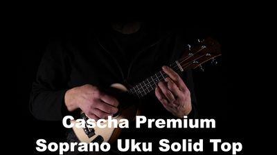 Cascha Solid Top Mahagoni Sopran Set