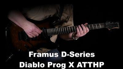 Framus D-Serie Diablo Progressive X Antique Tobacco Transparent High Polish