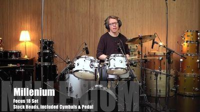 Millenium Focus 18 Drum Set