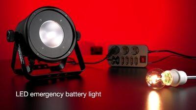 Varytec Emergency Light LED Par CRG
