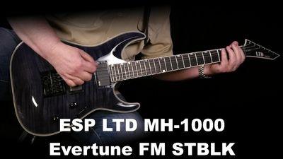 ESP LTD MH-1000 Evertune See Thru Black