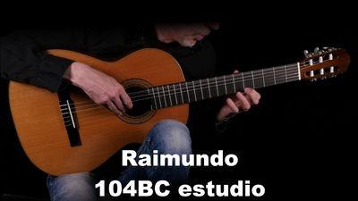Raimundo 104BC estudio Konzergitarre 4/4