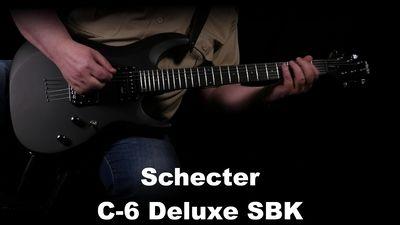 Schecter C-6 Deluxe SBK