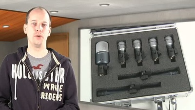the t.bone DC4000 Drum Mikrofon-Set