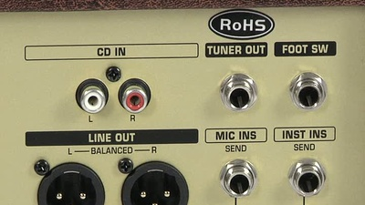 Behringer ACX Ultrasonic Stereo Akustik Combo