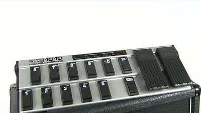 Behringer FCB 1010 Midi Fussleiste
