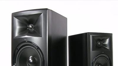 JBL LSR 305 und LSR 308 - aktive 2-Weg-Studio-Monitore