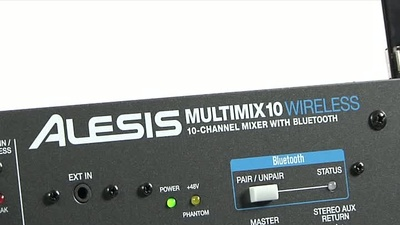 Alesis Multimix 10 Wireless: 19'' Rackmischer mit Bluetooth