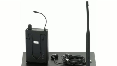 The t.bone IEM 100 - 863 MHz UHF Wireless InEar-System