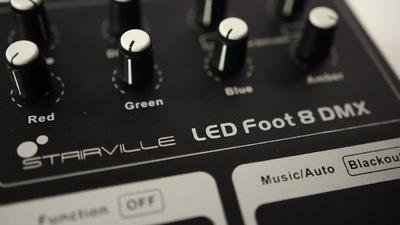 Stairville LED Foot 8: DMX Fußsteuerung