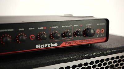 Hartke TX600 Top Sound
