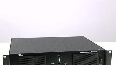 the t.amp TSA 1400 Endstufe